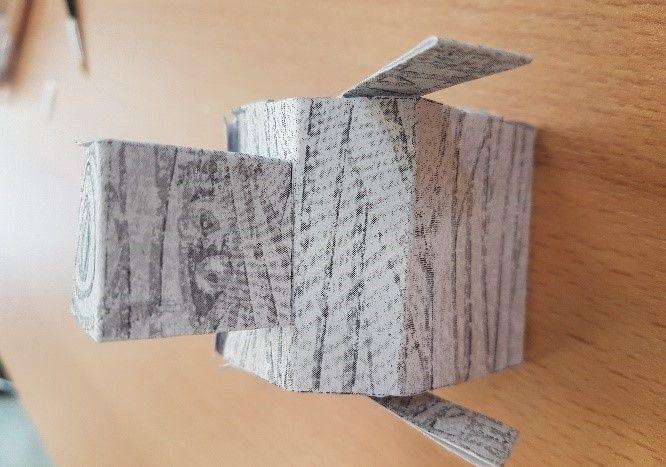 Picture of Stap 2: Bevestig De Delen Van De Mummybot