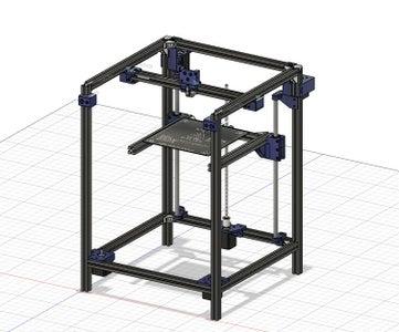 Host Corexy 3D Printer