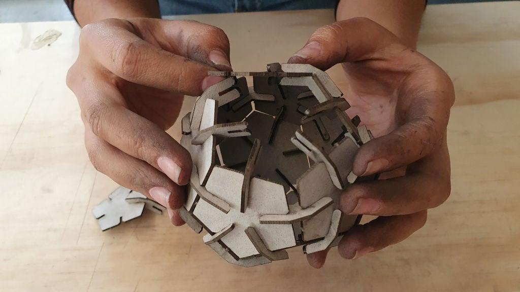 Picture of Armado Bola Hexagonal