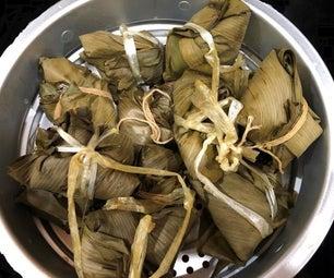 Vegan Bacang Rice Dumpling