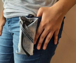 DIY Eyeglasses Carrying Pocket