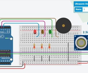 Arduino Car Reverse Parking Alert System | Steps by Step