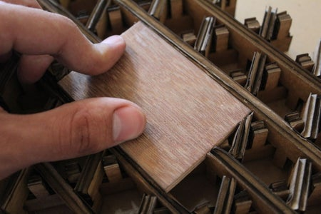 Creating the Reinforcement Wooden Pieces