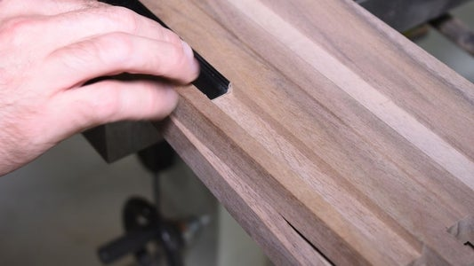 Route Groove in the Cabinet