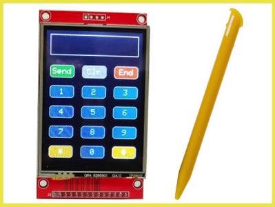 Touch Screen User Input