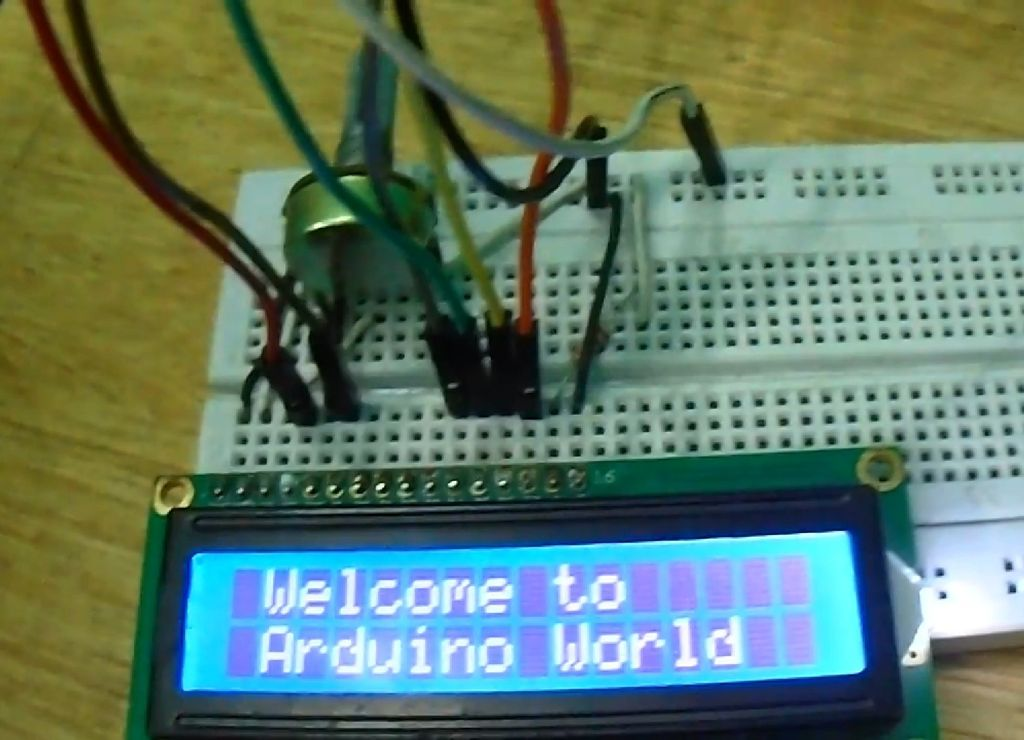 Picture of Arduino LCD 16x2 Tutorial | Interfacing 1602 LCD Display With Arduino Uno