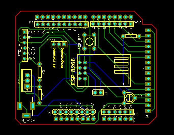Picture of Arduino WiFi Shield Using ESP8266