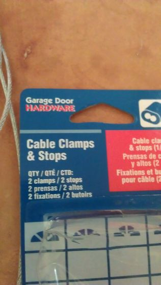Picture of Close (crimp/swage) the Ends of the Cable.