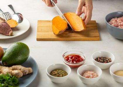 How to Make Sweet Potato Turkey Burgers