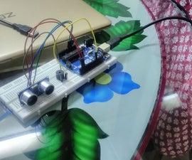 Arduino Ultrasonic Sensor Door Alarm