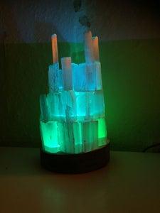 Selenite RGB Lamp