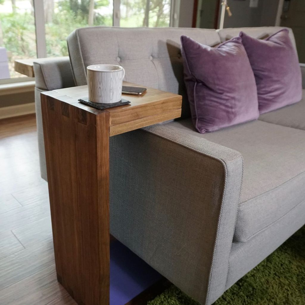 Picture of How to Make a Sofa C-Table