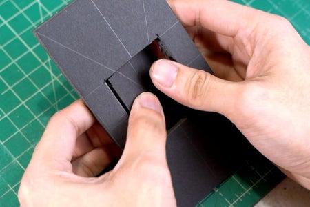Cutting the Plexiglass Diffuser