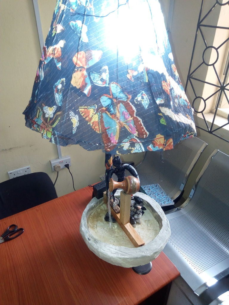 Picture of HYDROTHERAPY LAMP.
