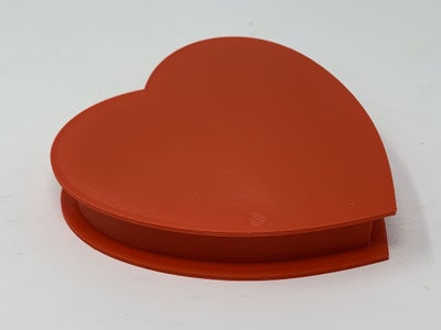How I Designed a 3D Printable Valentine Heart Gift Box Using Autodesk Fusion 360