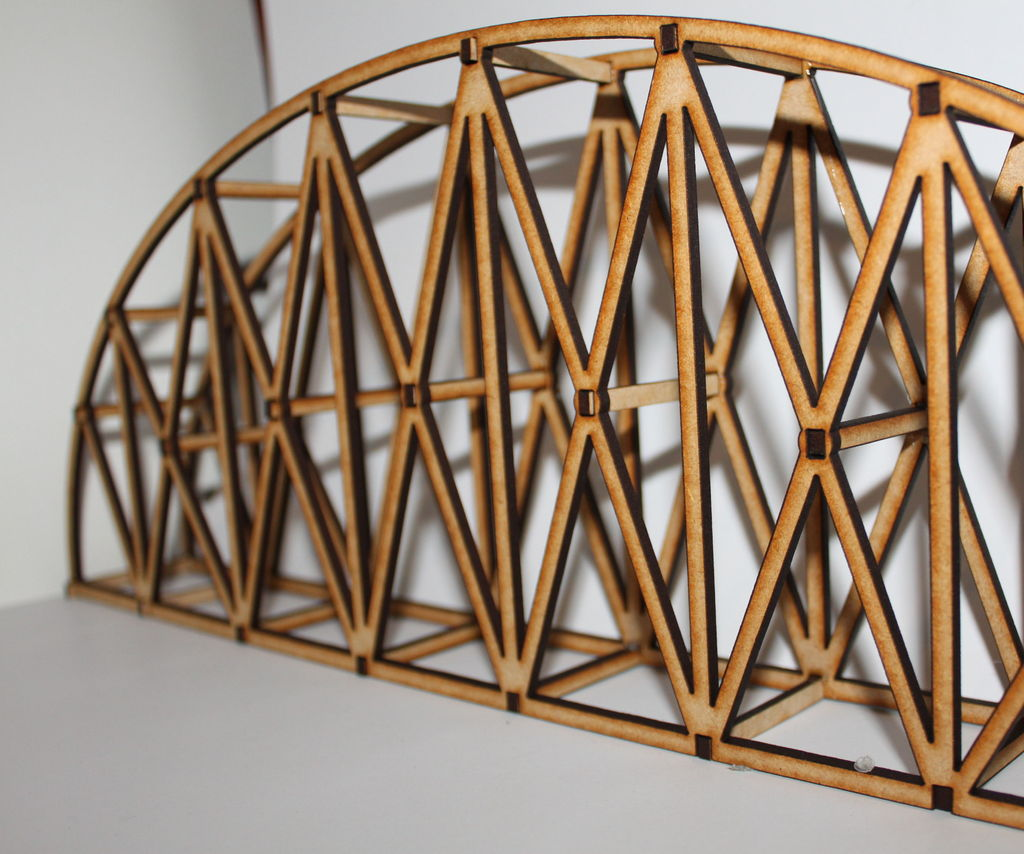 Laser Cut Bridge Competition