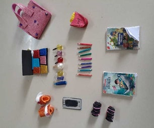 Mini Barbie Doll Crafts