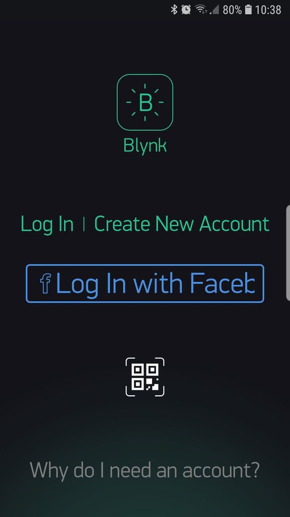 Picture of Get the Blynk Application on Your Smartphone.