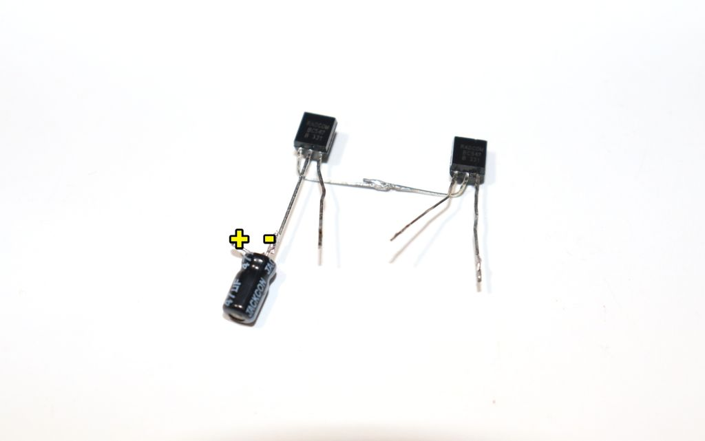 Picture of Connect 47uf Capacitor