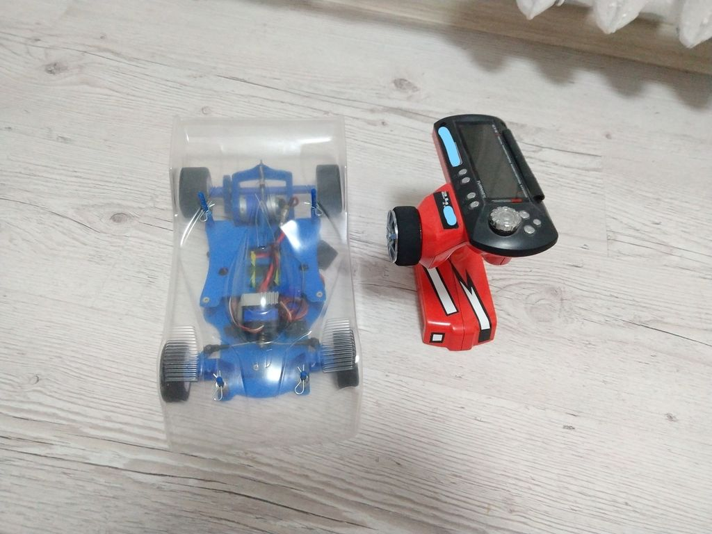 Picture of RC Car Manufactured on 3D Printer