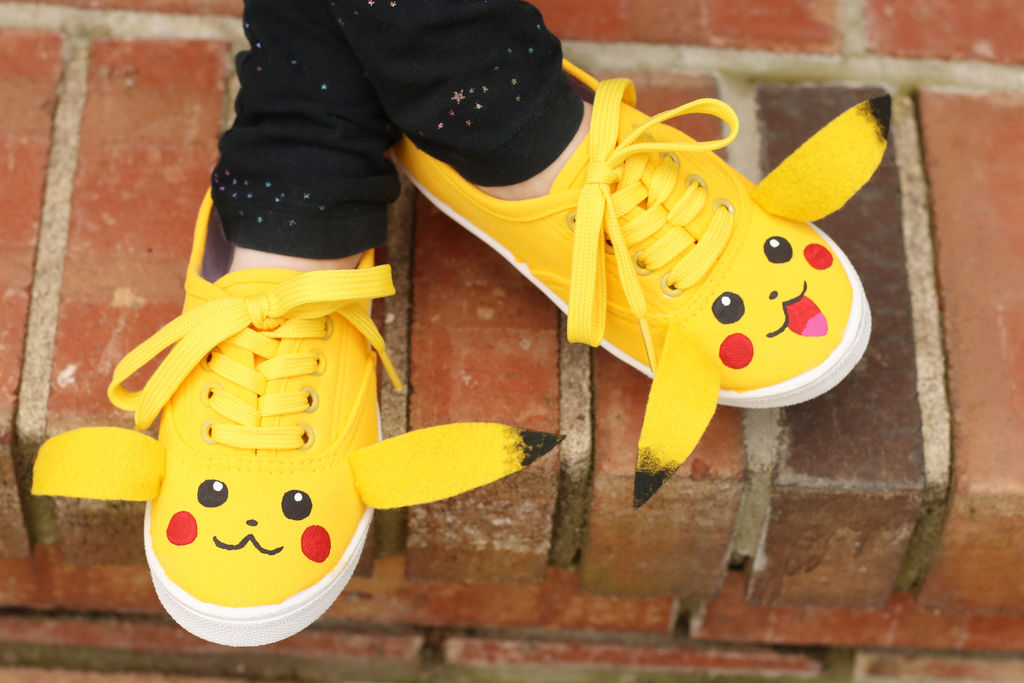 Picture of DIY Pikachu Shoes
