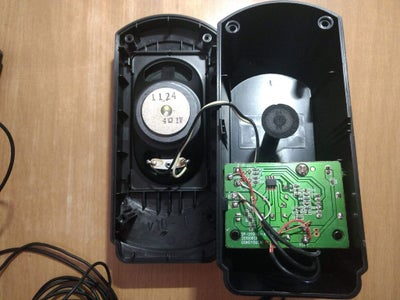 Disassemble Speakers and Identify the Power and Audio Connections