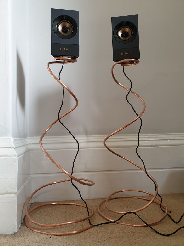 Picture of Make Your Own Adjustable Height Speaker Stands