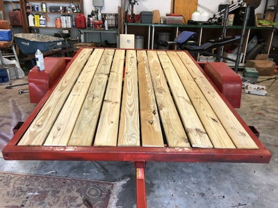 Put Down the Flooring.
