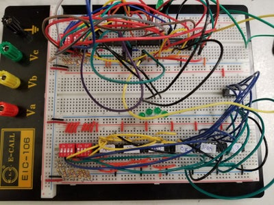 Wire the Logic Gates (Subtractor)