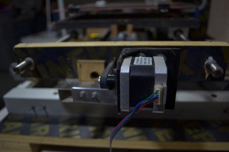 The Linear Guide Track of Y-axis