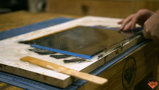 Rough Cutting the Carbon Fiber