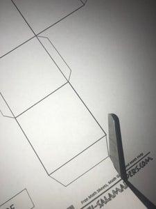 Cut the Cube Net.