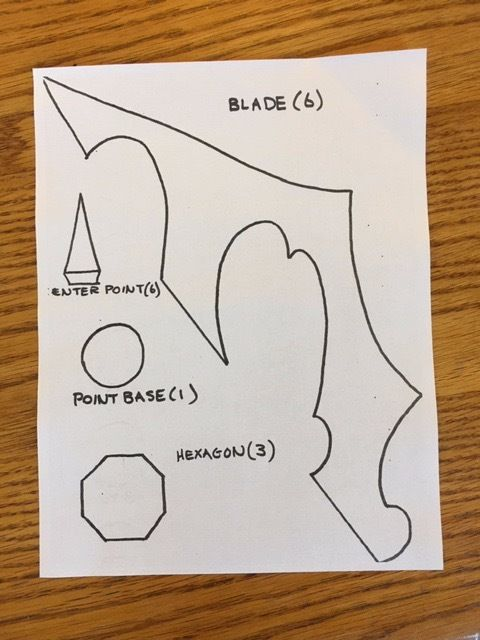 Picture of Print and Cut Template