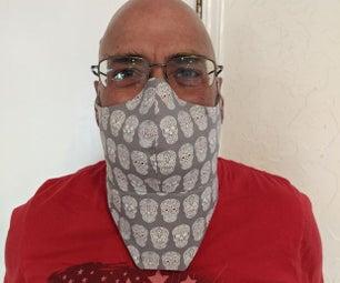 COVID-19胡子面具