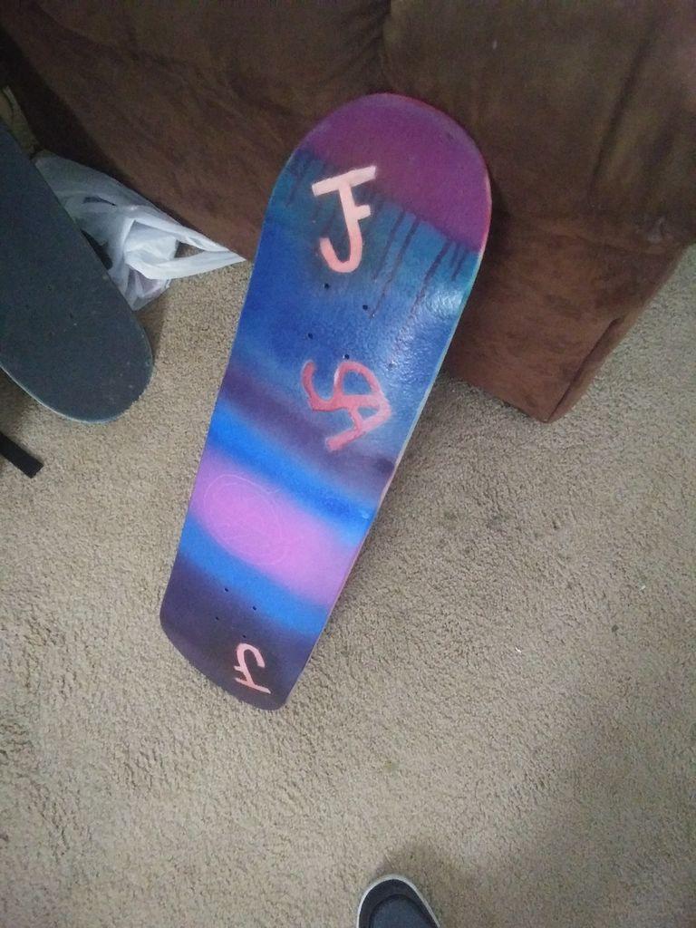 Picture of Custom Skateboard