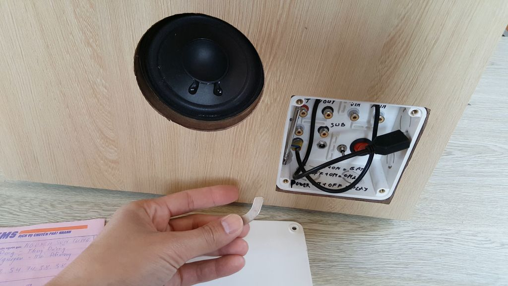 Picture of 2.2 Circuits and Speakers