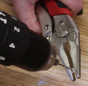 Thread Steel Wire and Crimp to Cap