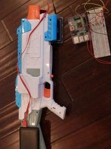 Motion Decting Nerf Gun