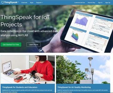 Looking at the Thingspeak Platform: