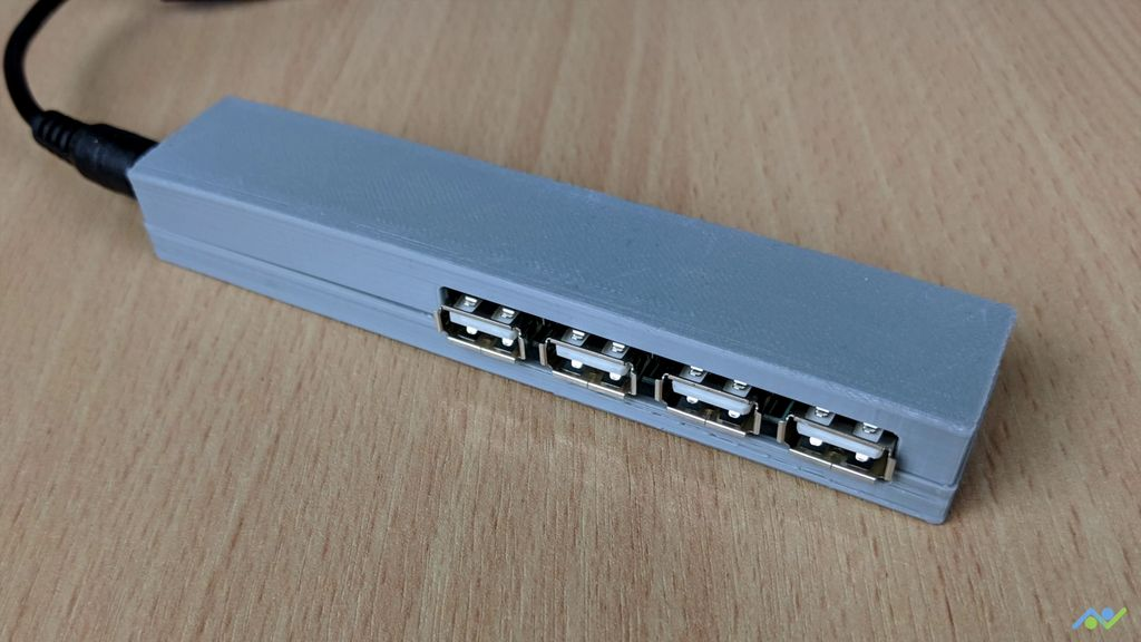 Picture of USB Power Hub for DIY Projects