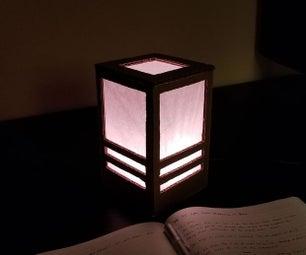 Cardboard Shoji Lantern