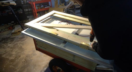 Build a Frame to Mount the Panels To