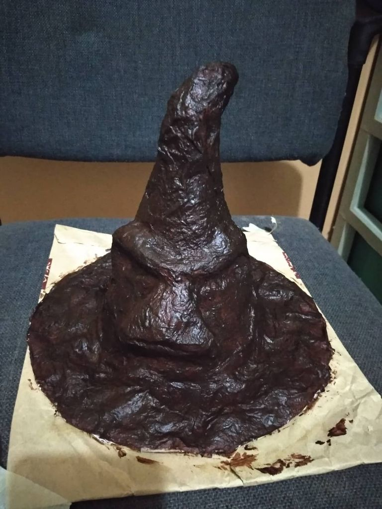 Picture of DIY Sorting Hat From Harry Potter