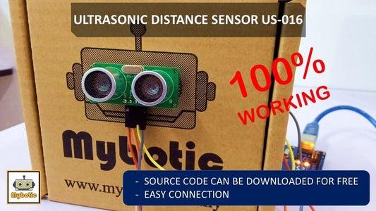 Tutorial: How to Use Analog Ultrasonic Distance Sensor US-016 With Arduino UNO