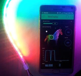 LED Light Strip Mounting: