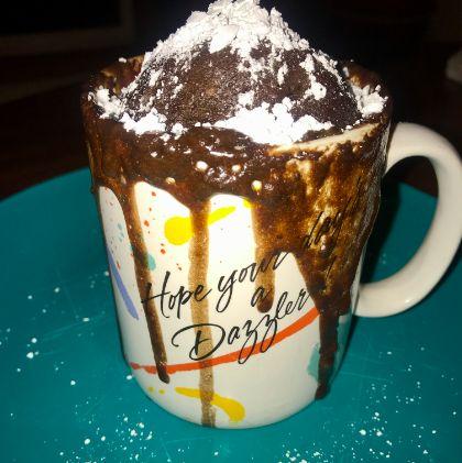 Picture of Molten Lava Chocolate Mug Cake