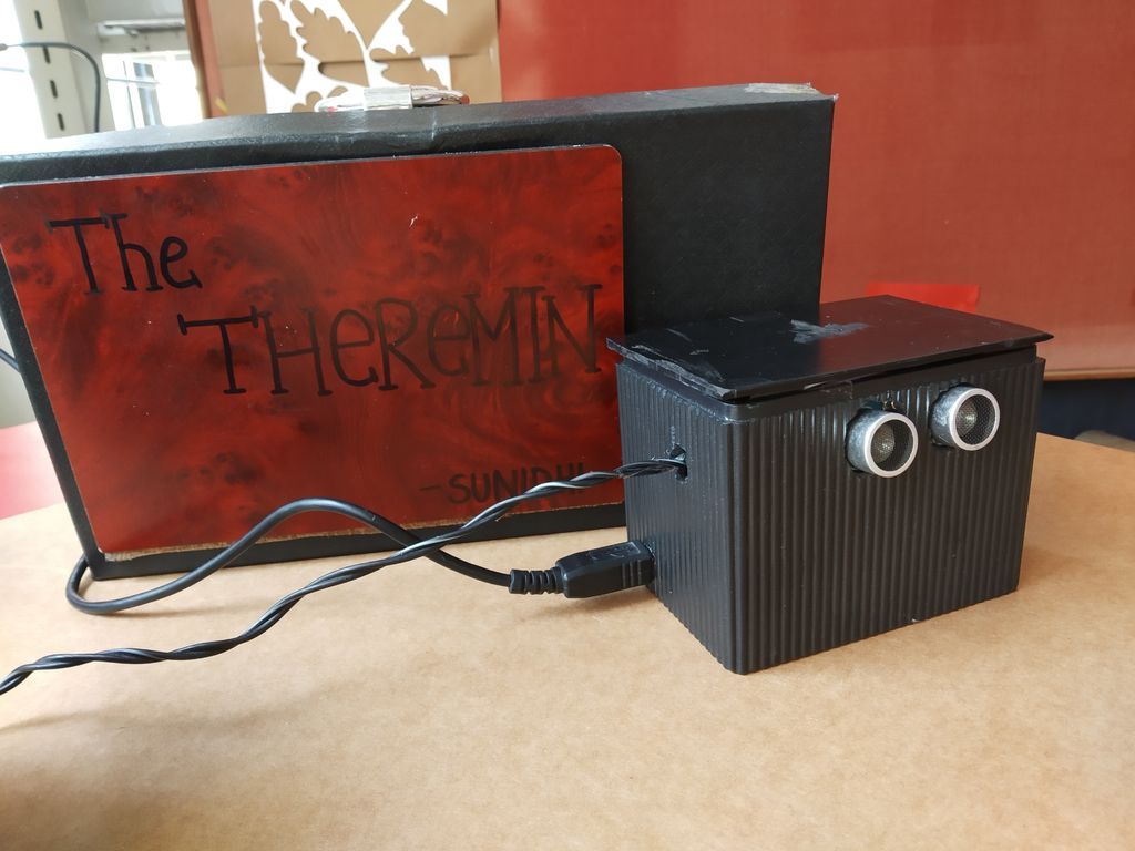 Picture of Make a Simple Ultrasonic Theremin