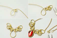 Instructions on How to Make the Necklace: