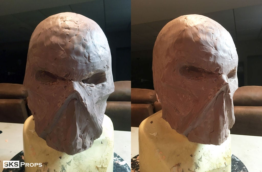 Picture of Applying the Monster Clay