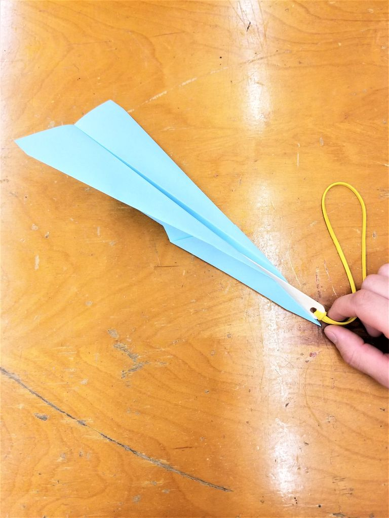 Picture of Insert the Engine Into a Paper Plane